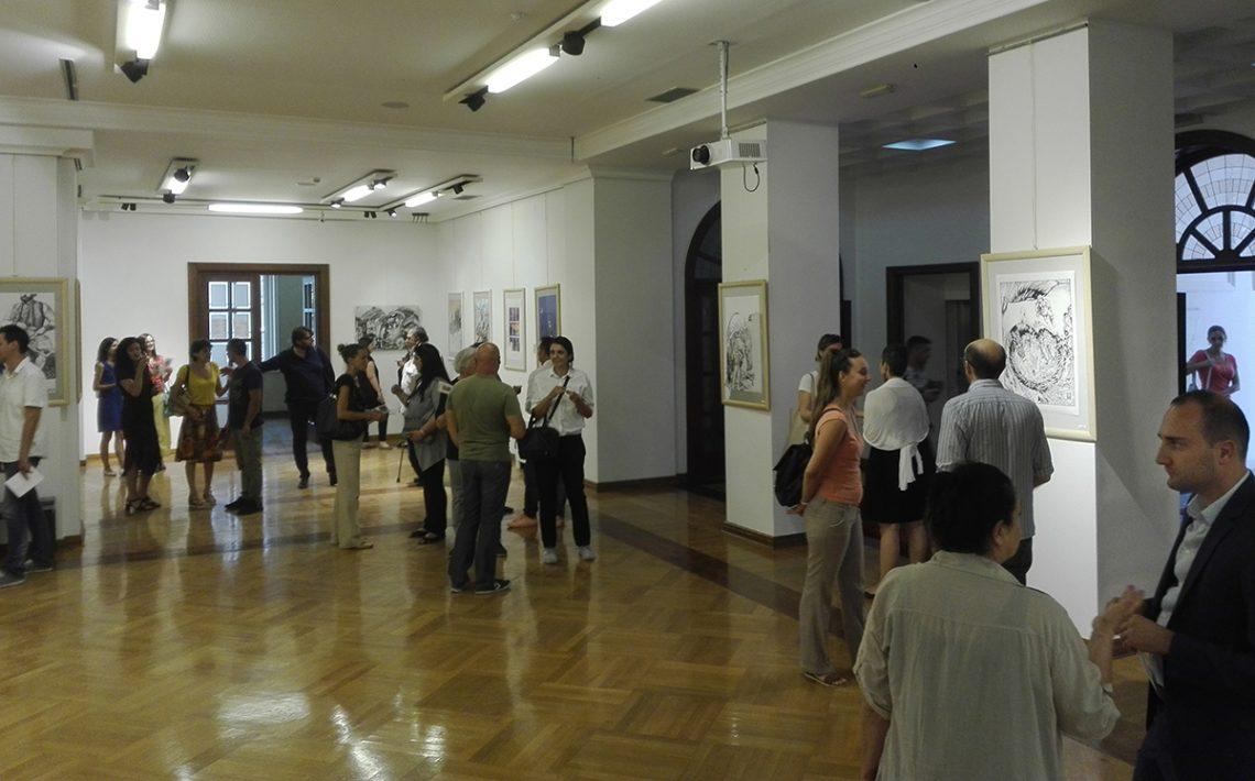 Otvorena HSF izložba na Cetinju