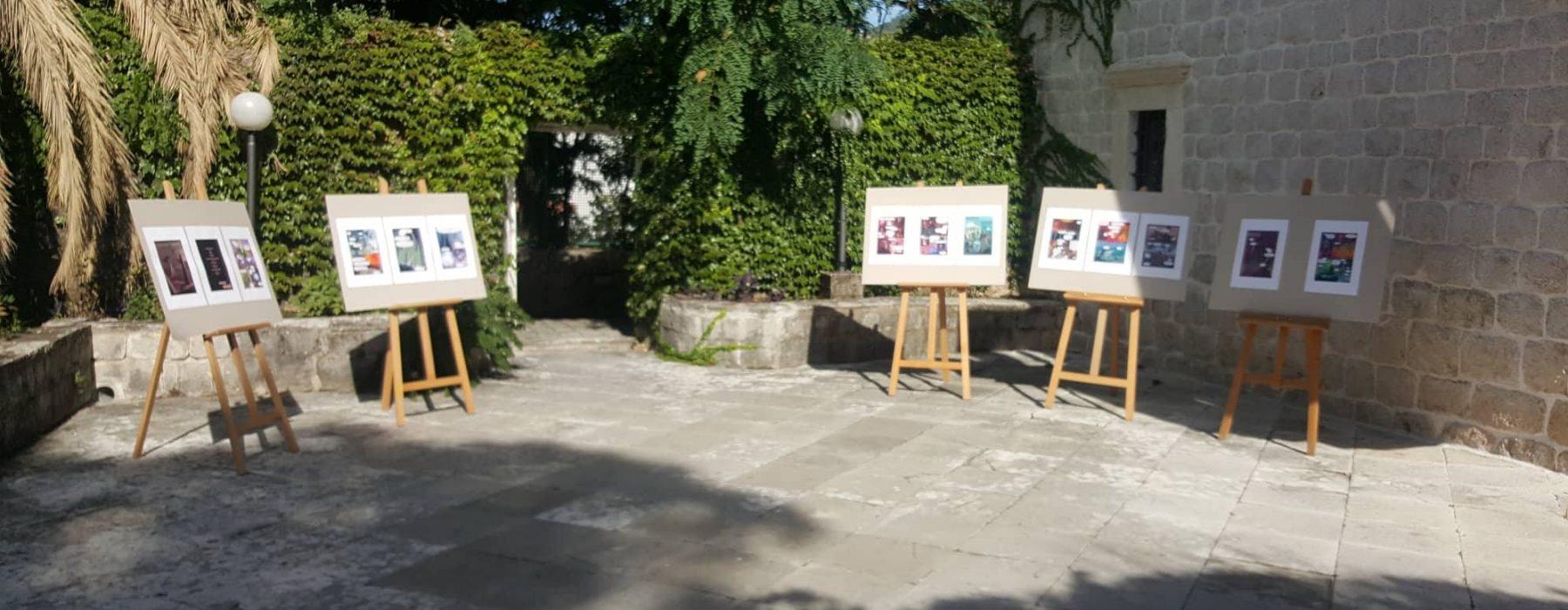 Izložbe u bašti muzeja, strip u boci i crtanje na Luštici danas na HSF-u