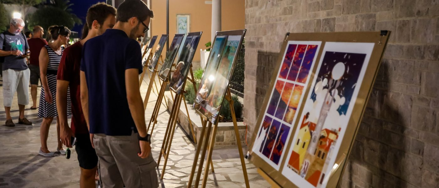 Izložba i radionica HSF-a u Kotoru