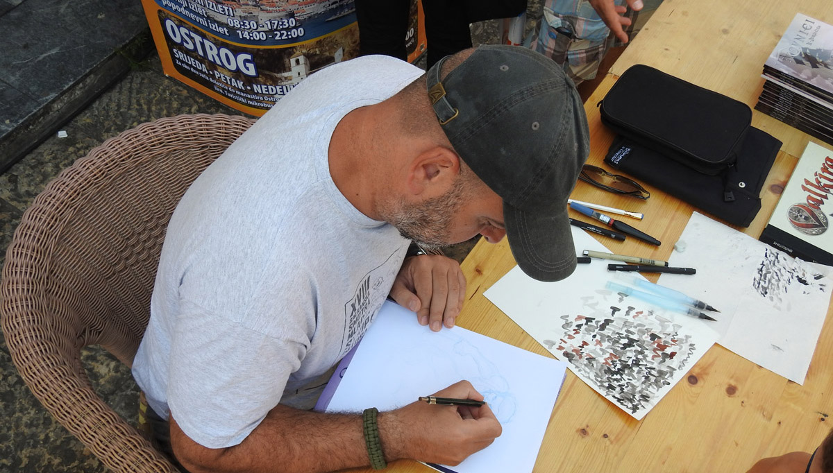 Subota na Hercegnovskom strip festivalu – požurite po crtež!