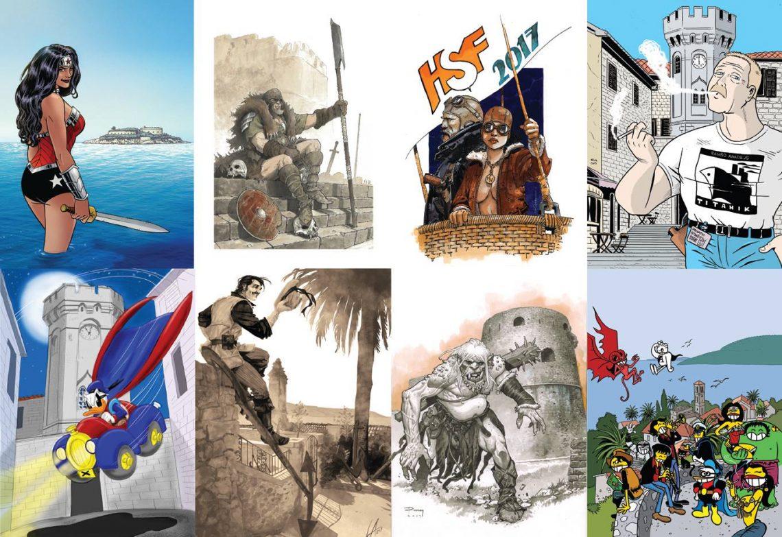 Umjetnička djela najvećih strip majstora na posterima HSF-a