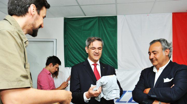 Ambasador Italije: S ponosom nastavljamo podršku HSF-u