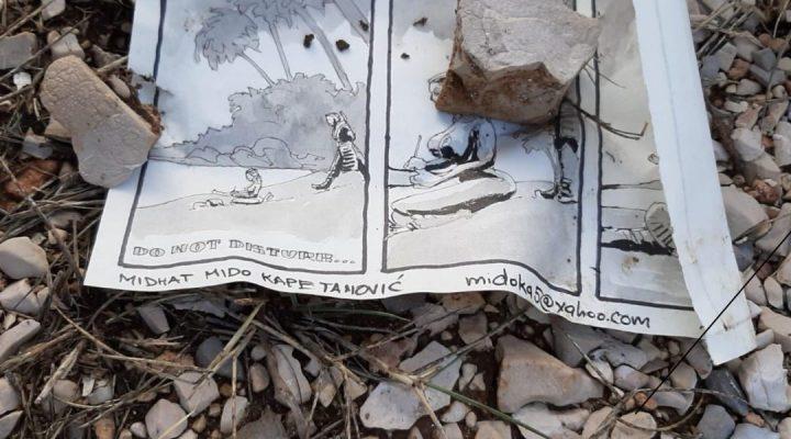 Strip u boci stigao i do ostrva Pašman